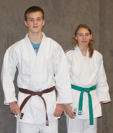Yannick Gäbert und Jennifer Rühle erfolgreich in Rodenbach
