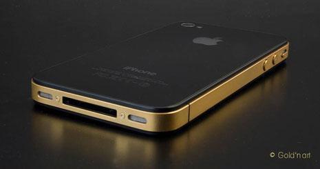 iPhone in Wiesbaden, Darmstadt, Mainz, Frankfurt, Königstein, Bad Homburg, Taunus, Darmstadt vergolden lassen, goldschmiede