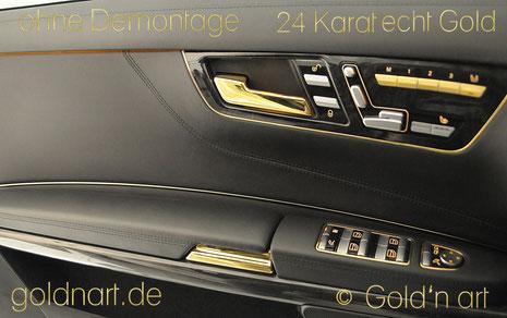 vergoldetes Auto in Wiesbaden, Frankfurt, Darmstadt, Mainz, Groß-Gerau, Rüsselsheim, vergolder