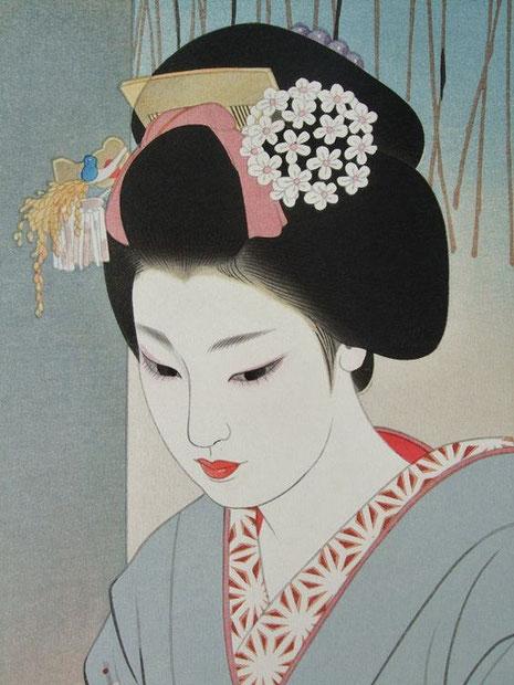 Holz-Bilddruck von Shimura Tatsumi