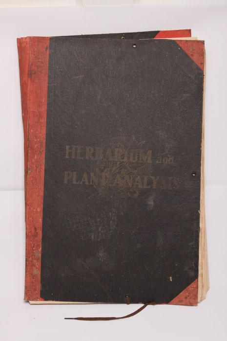 Herbariumand Plantanalysis 1914
