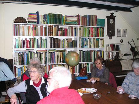 Huiskamerlezing Herbarium Frisicum voor Instituut voor Natuureducatie - ontvangst 16 november 2013