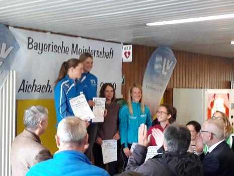 LC Aichach Damen - 2. Platz Kreismeisterschaft Mannschaft