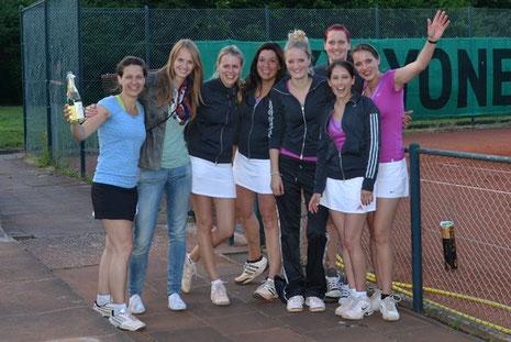 v. l. Kathrin Spitznagel, Lisa Schmitke, Navina Fischlein, Nicola Senft, Marie Damitz, Kathrin Deutsch, Kristina Chwieja, Sarah Fries.