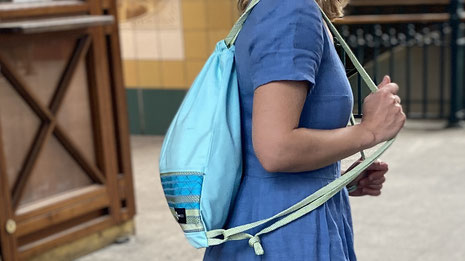 upcycling tasche rucksack newseed