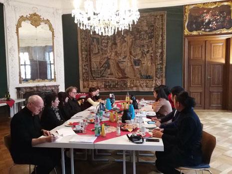 20.12.2017: Vorbereitungsgespräch: GDKE und GDCF mit CPAFFC für 2018