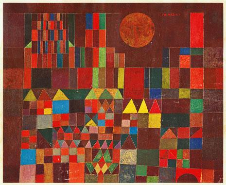 Château et soleil (1928), de Paul Klee