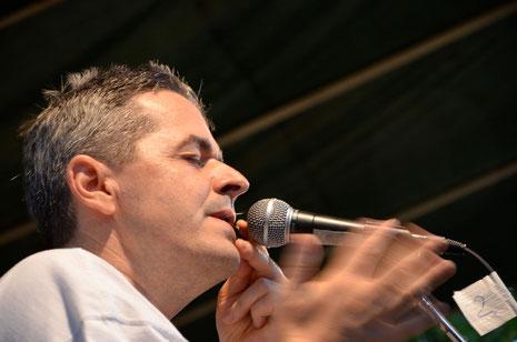 Manfred Russmann am 2.Feldegger MaultrommelJam 2012