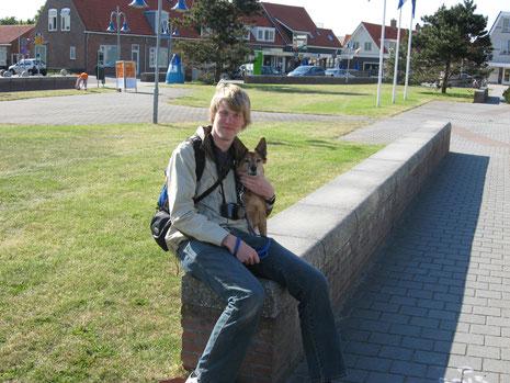 Petten aan Zee, Noordholland, im Mai 2008