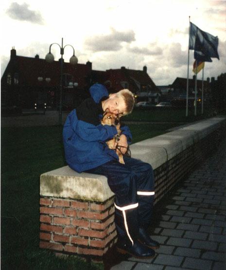 Petten aan Zee, Noordholland, im Oktober 2000