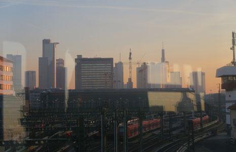 Tschüss, Frankfurt!