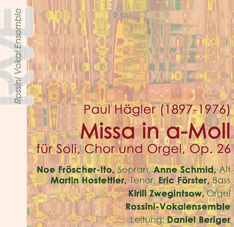 CD-Cover Hägler 2010