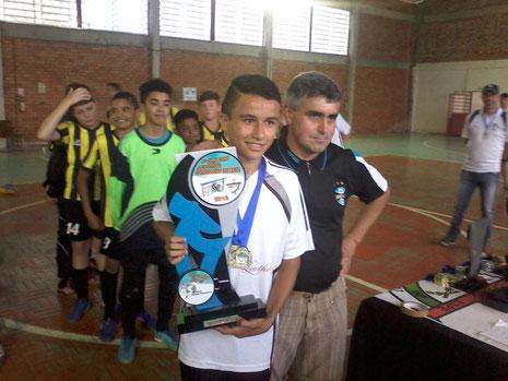 Gabriel Amaral - AFIC/Nova Esperança - Campeão - Sub 15