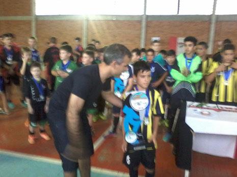 Augusto Silveira - AFIC/Nova Esperança - Campeão - Sub 13