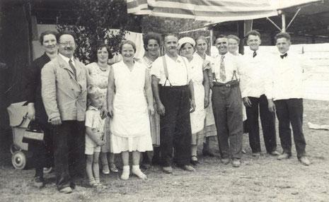 Bild: Wünschendorf Erzgebirge Auerbach 1935