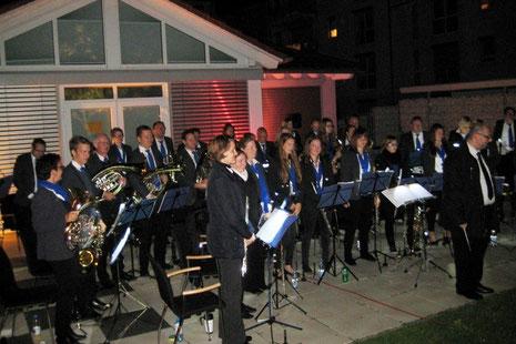 Serenadenkonzert 2014 unter der Leitung von Pascal Broßardt