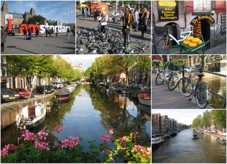 Auf Erkundungstour durch Amsterdam