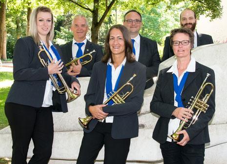 v.l.n.r.: Nicole Duttenhöffer, Joachim Scherrer, Simone Müller, Michael Trauthwein, Claudia Duttenhöffer und Martin Kupper