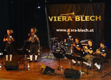 Viera Blech - Blasmusik der Extraklasse
