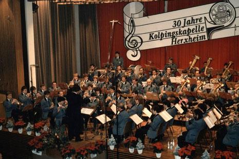 Konzert unter der Leitung von Werner Stüber (1984)