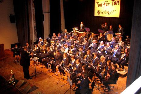Konzert 2013 unter der Leitung von Pascal Broßardt
