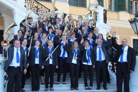Konzert vor dem Schloss Schönbrunn in Wien