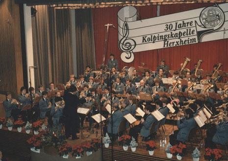 Jubiläumskonzert 1984 - Leitung: Werner Stüber