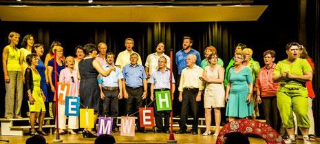 Jahreskonzert Fernweh - Heimweh Mai 2014 / Ochsensaal Grosswangen
