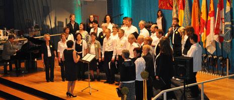 90-Jahre-Jubiläum / Fahnenweihe Mai 2012 / Kalofenhalle Grosswangen