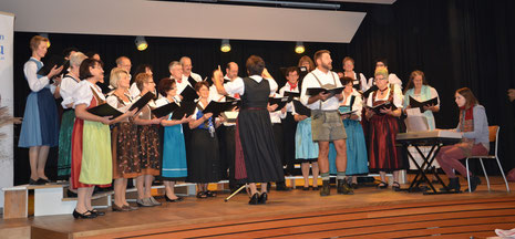 Österreicher Abend, November 2012 im neu renovierten Ochsensaal