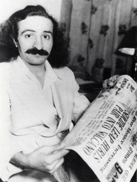 Meher Baba prior to his departure to Asia & India