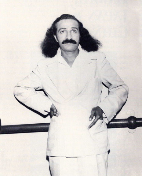 4th June, 1932 : Meher Baba on board the SS Monterey before departing Los Angeles Harbour for Honolulu