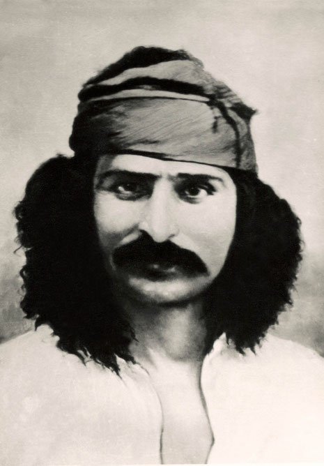 Baba in India 1920s ; Photo supplied by Panday
