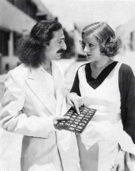 31st May, 1932 : Paramount Studios, Hollywood, CA. Meher Baba with Tallulah Bankhead