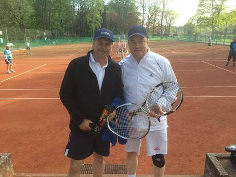 Ernst Kettler und Roland Stahl