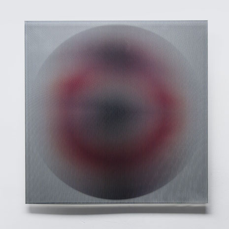 Rising II.  | silk printed, laminated, polished glass  |  40 x 40 cm  |  2013  |  ●
