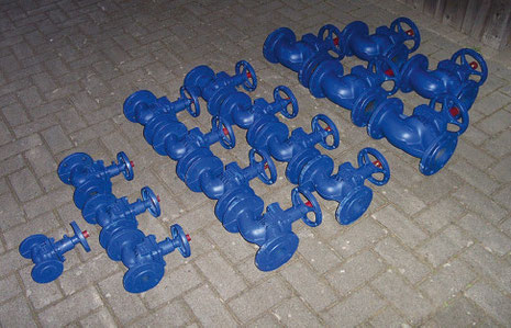 Globe Valves for Water Lines