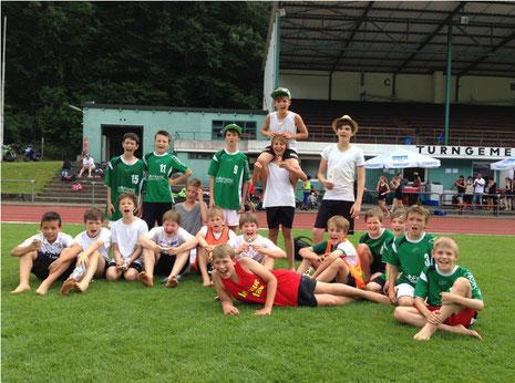 Sieger beim Beachhandballturnier in Geislingen