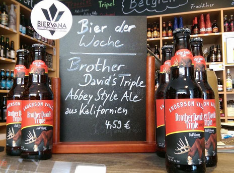 Abbey Style Ale aus Kalifornien: Brother David's Triple
