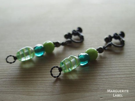 Pure&Green /Glass Beads