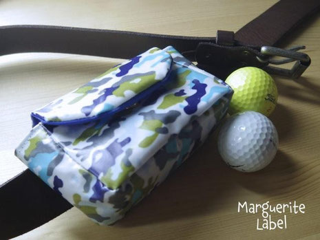 Golf Ball Pouch / made by woodman