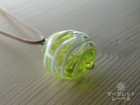 ガラスの風船フレッシュグリーン