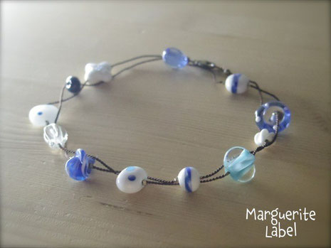 Blue Opera  / Glass Beads