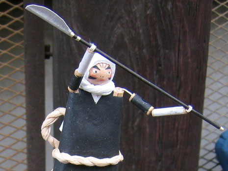 葉紙屋さん からくり人形作品
