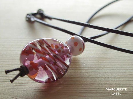 Happy Pink /Glass Beads