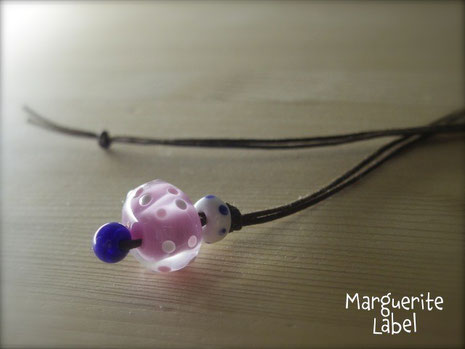 Big Pink / Glass Beads