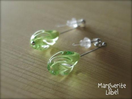Tear Drop / Pierced Earrings
