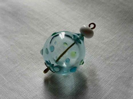 ガラスの風船 京都 手づくり市 アクセサリー