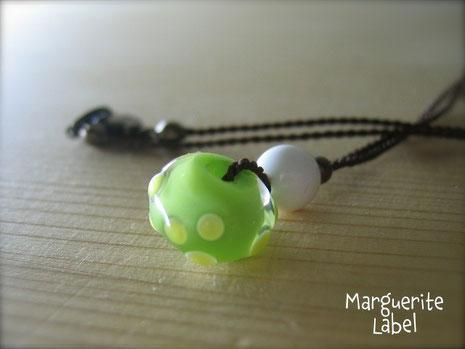 Chartreuse Green  / Choker