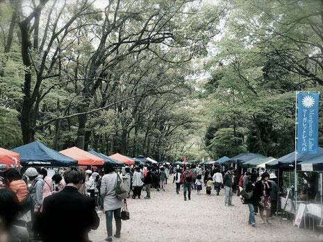 下鴨神社 糺ノ森 森の手づくり市